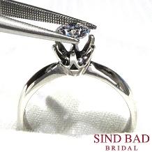 SIND BAD BRIDAL:【サプライズ】ダイヤモンドだけでプロポーズ!リングはふたりで納得のいくものを