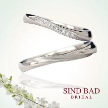 SIND BAD_結婚指輪【里結 りむ】両家の交わりをイメージ【2本11万6640円~】