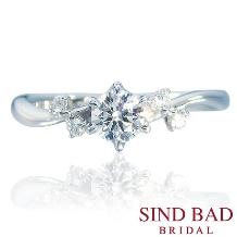 SIND BAD_婚約指輪 フェアリー 妖精の祝福をイメージ
