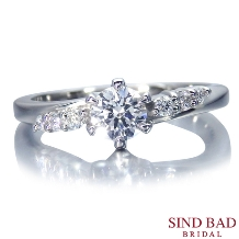 SIND BAD_婚約指輪 【Universoユニベルソ】シリーズ ハートが隠された婚約指輪