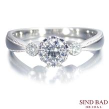 SIND BAD_婚約指輪【Estrella エステーラ】星の輝きをイメージした婚約指輪