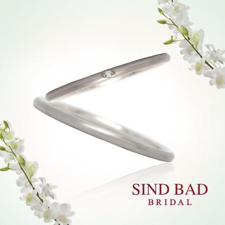 SIND BAD:マリッジリング【Shooting Star シリーズ】結婚指輪
