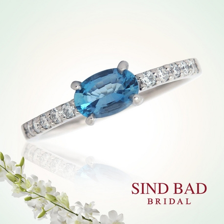 SIND BAD:【サンタマリアアクアマリンの婚約指輪】サプライズプロポーズにも!4万円台〜