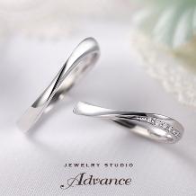 JEWELRY STUDIO Advance_【Advance】grace(グレース)『上品なウェーブライン』