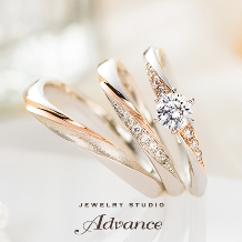 JEWELRY STUDIO Advance:【Advance】Chandelier(シャンデリア)『装飾的で華やかなリング』