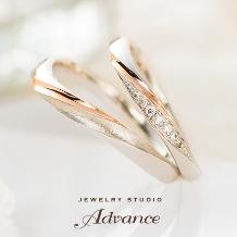 JEWELRY STUDIO Advance_【Advance】Chandelier(シャンデリア)『装飾的な華やかリング』