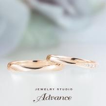 JEWELRY STUDIO Advance:【Advance】Chouette(シュエット)『華奢なデザインで大人花嫁に』