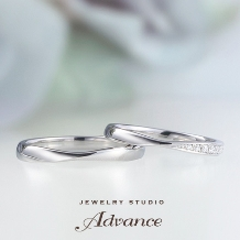 JEWELRY STUDIO Advance_【Advance】Chouette(シュエット)『華奢なデザインで大人花嫁に』