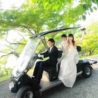 TOBE AUBERGE RESORT:【カートでドライブ】TOBE AUBERGE RESORT見学会