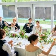 ブランレヴュー宇都宮アクアテラス:【少人数プラン】絶品試食×緑溢れる貸切空間で叶えるシンプル婚