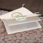 結婚式招待状:彩紙家本舗 東堂