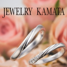 JEWELRY KAMATA(ジュエリーかまた)_重ね付けも思いのまま、指先を飾る王道の曲線美 Julian ~永続する愛情~