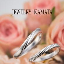 JEWELRY KAMATA(ジュエリーかまた):重ね付けも思いのまま、指先を飾る王道の曲線美 Julian ~永続する愛情~
