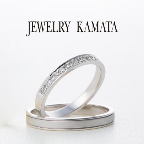 JEWELRY KAMATA(ジュエリーかまた):男性は着けやすく、女性の指先は煌びやかに ストレチア~輝かしい未来~