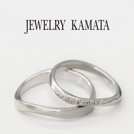 JEWELRY KAMATA(ジュエリーかまた):永遠を意味するメビウスの帯をリングに メイリリー~永遠~