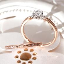 Ginza Rim/銀座リム:【銀座リム/ステファニー】シンプルで凛とした輝きを放つ☆ダイヤモンドリング