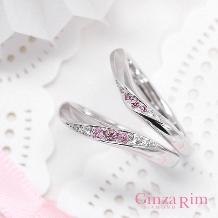 Ginza Rim/銀座リム:【銀座リム/シンディ&ポーラ】ピンクダイヤのグラデーションに一目惚れ☆