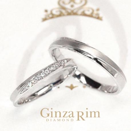 Ginza Rim/銀座リム:【銀座リム/ノラ】ダイヤのグラデーションが放つ清楚な煌めき!