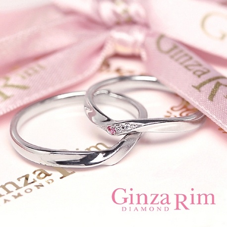 Ginza Rim/銀座リム:【銀座リム/ソフィー】シンプルなのにカワイイ!どちらも叶える理想のリング!