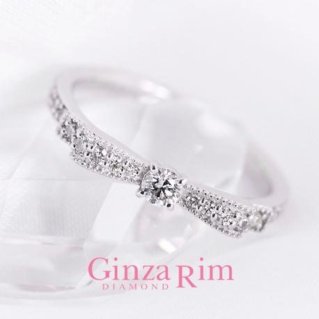 Ginza Rim/銀座リム:【銀座リム/エリー】デイリーに愛用できるのが嬉しい!細みリング