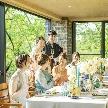 THE HILLTOP TERRACE NARA(ザ・ヒルトップテラス奈良):【家族婚の方へ】世界遺産に囲まれた新チャペル×A5和牛試食