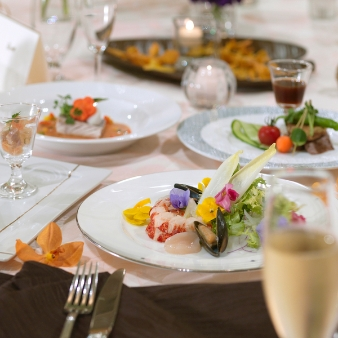 御宿 東鳳:【組数限定の人気フェア!】美景×美食婚礼フルコース試食フェア