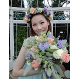 ぶぷれぱーく:【1万4000円】ガーデンウエディングにナチュラルな花冠♪