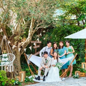 Patrick Kiso Garden 東京・町田:【ナチュラルW】緑の貸切りガーデン×演出体験♪コース試食