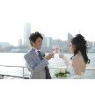 ロイヤルウイング ~Wedding Cruise~:【4組限定】ドレス試着有♪月に一度のブライダルフェアクルーズ