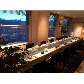 ホテルエミシア札幌:☆本格チャペルW+地上100m天空のパーティー会場W☆
