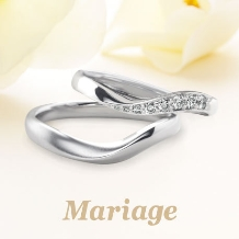 Mariage(マリアージュ):【マリアージュ】 ~シェリール:愛おしい~ 心が寄り添うおふたりを表現