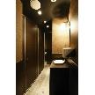 Dope Lounge 東口駅前店:化粧室は男女別に 女性にうれしい三箇所 男性用も三箇所トイレ待ちはほぼ無いですね。