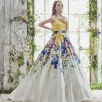 Bridal HIRO(ブライダル ヒロ):【HIRO】ゲストの視線も釘付け*NEWテイストのカラードレス