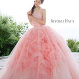 Bridal HIRO(ブライダル ヒロ):【HIRO】チュールの中に咲き誇るバラモチーフが印象的な大人キュートドレス