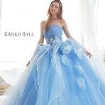 Bridal HIRO(ブライダル ヒロ):【KIYOKO HATA】繊細グラデーションブルーのカラードレス