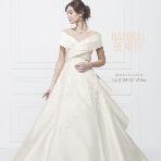 Bridal HIRO(ブライダル ヒロ):【NATURAL BEAUTY】ミカドシルクとケープのAラインドレス、2way!
