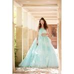 Bridal HIRO(ブライダル ヒロ):【rienda suelta】爽やかなブルーグリーン刺繍カラードレス