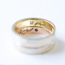 杢目金屋(もくめがねや):【杢目金屋】緩やかに流れるカーブが指にしっくりなじむ結婚指輪