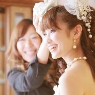 ドレス:BRIDAL KAWAGUCHI(川口貸衣裳)