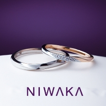 TOMIYA BRIDALの婚約指輪&結婚指輪