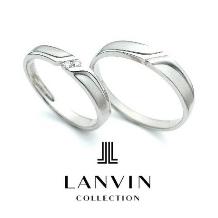 ジュエル森脇:【ジュエル森脇】LANVIN 幸福を願うブルーサファイヤをリングの裏にセット