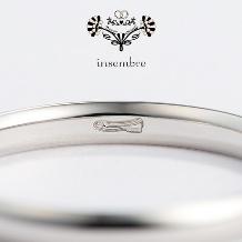 ジュエル森脇:【ジュエル森脇】insembre おとぎ話の結婚指輪