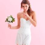 ドレス小物、インナー、ヘッドドレス、グローブ、アクセサリー:ブライダルインナー トリニティ