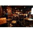 恵比寿 bERGAMO(ベルガモ):ドラムセットを組んでライブの演出
