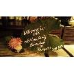 恵比寿 bERGAMO(ベルガモ):ウェルカムボードは大きな葉にかいてみました!