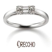 ORECCHIO(オレッキオ):スイートマジョラム~インビジブルセッティングと言う爪を使わない技法で作られた指輪