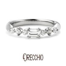ORECCHIO(オレッキオ)_【本誌特集掲載中】<pipi~ピピ>婚約指輪 PE‐1403