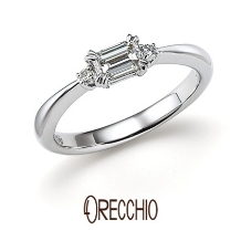ORECCHIO(オレッキオ)_【本誌特集掲載中】<pipi~ピピ>婚約指輪 PE‐1406