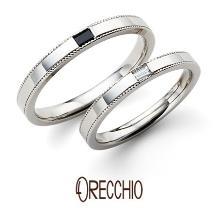 ORECCHIO(オレッキオ)_【本誌特集掲載中】<safari~サファリ>結婚指輪 FM2216/FM2215