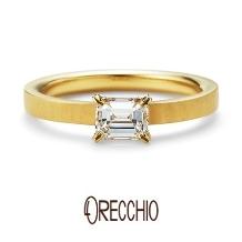 ORECCHIO(オレッキオ)_【本誌特集掲載中】<aman~アマン>婚約指輪 AE‐1302